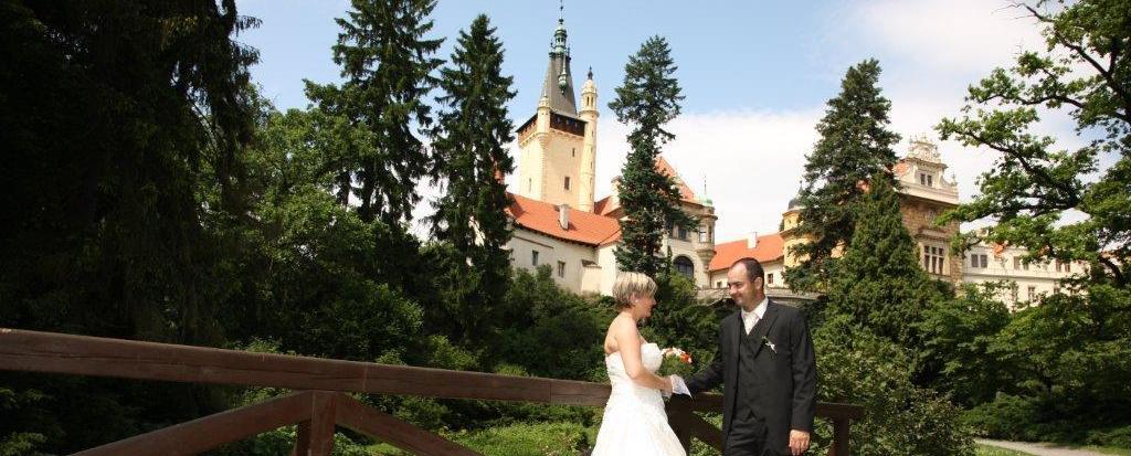 Svatba na Zámku Průhonice