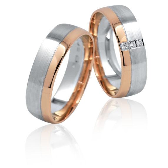 Snubní prsteny Retofy kombinované