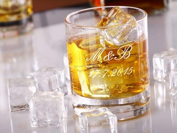 Svatební skleničky na whisky