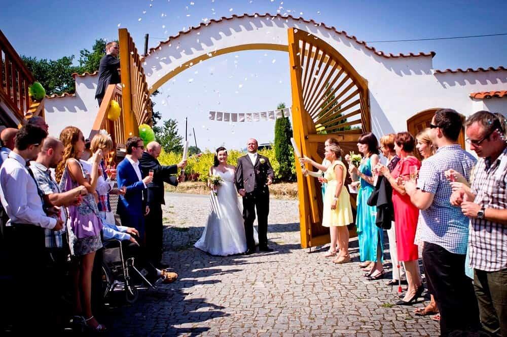 Svatba na statku