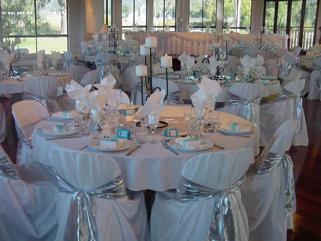 Svatební potahy Svatební potahy na židle 1