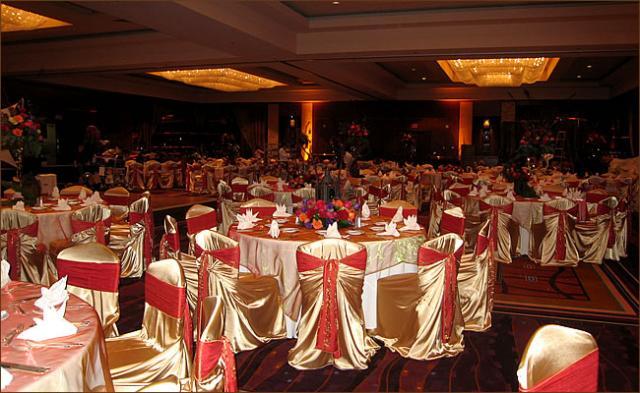 Svatební potahy Svatební potahy na židle 3