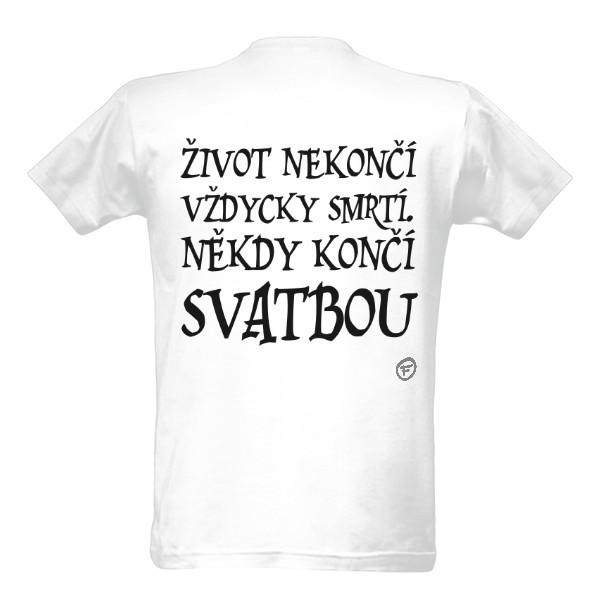 Svatební tričko