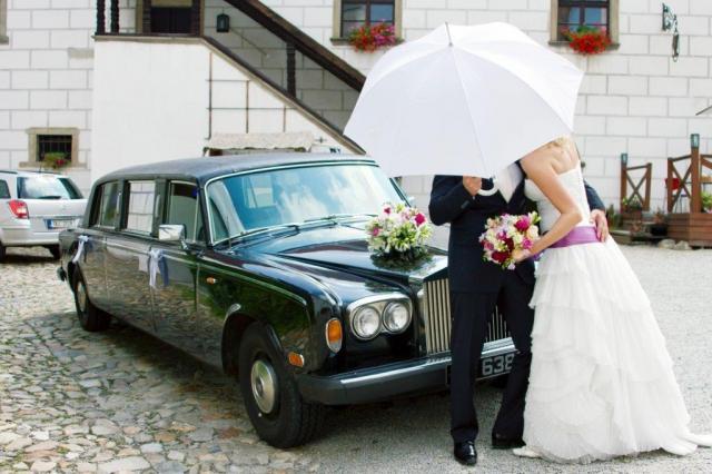 Svatební Rolls Royce 1