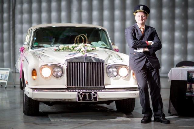 Svatební Rolls Royce 2