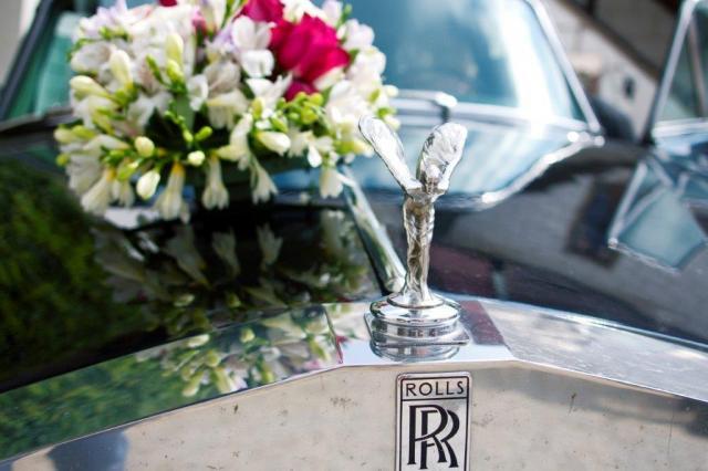 Svatební Rolls Royce 3