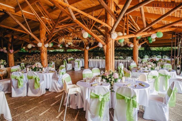 Svatební tabule golf Kořenec 2