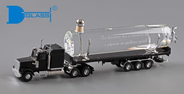 Truck - skleněná láhev
