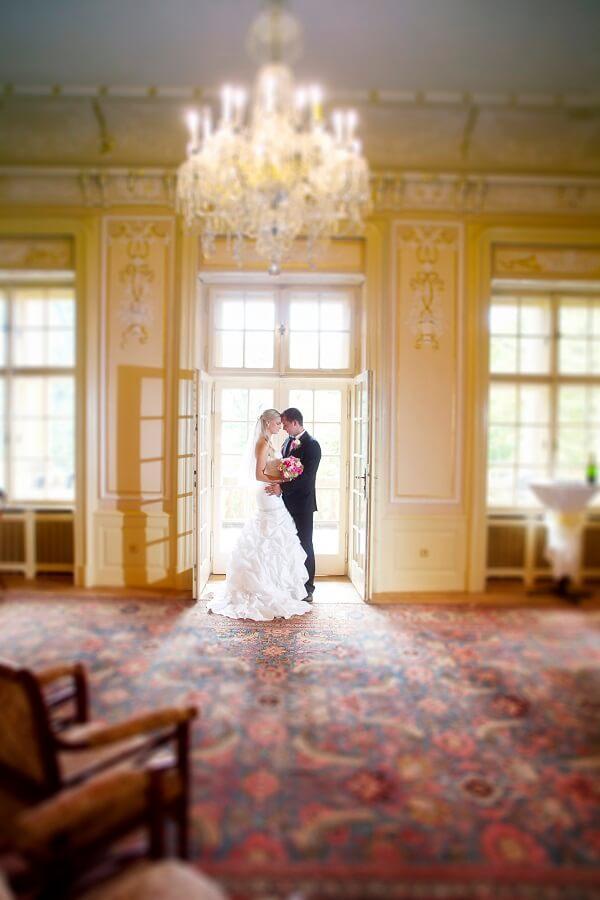Villa Lanna - novomanželé