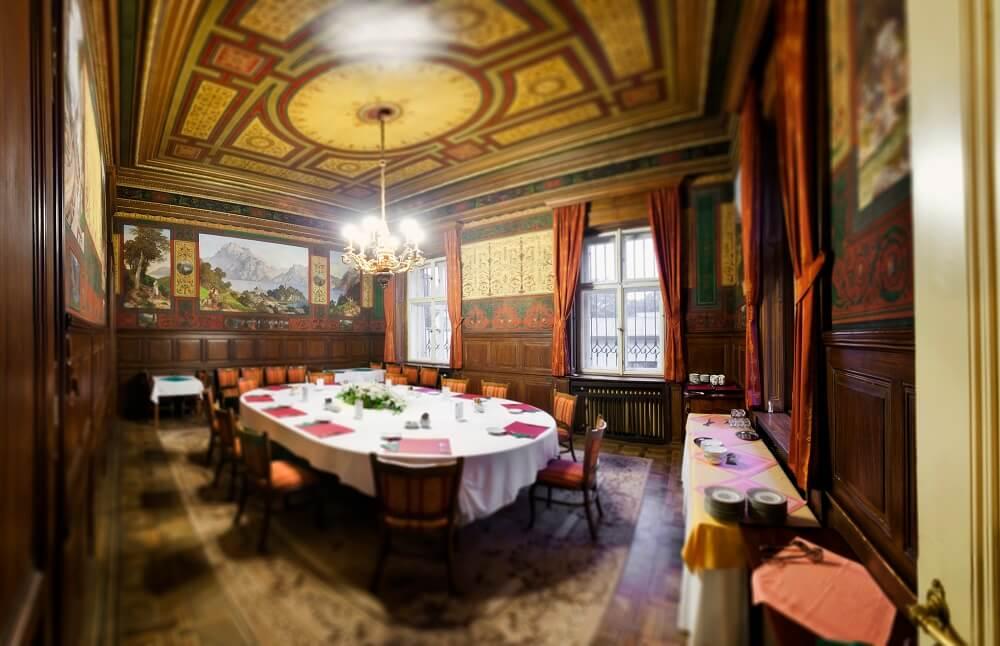 Villa Lanna - salonek