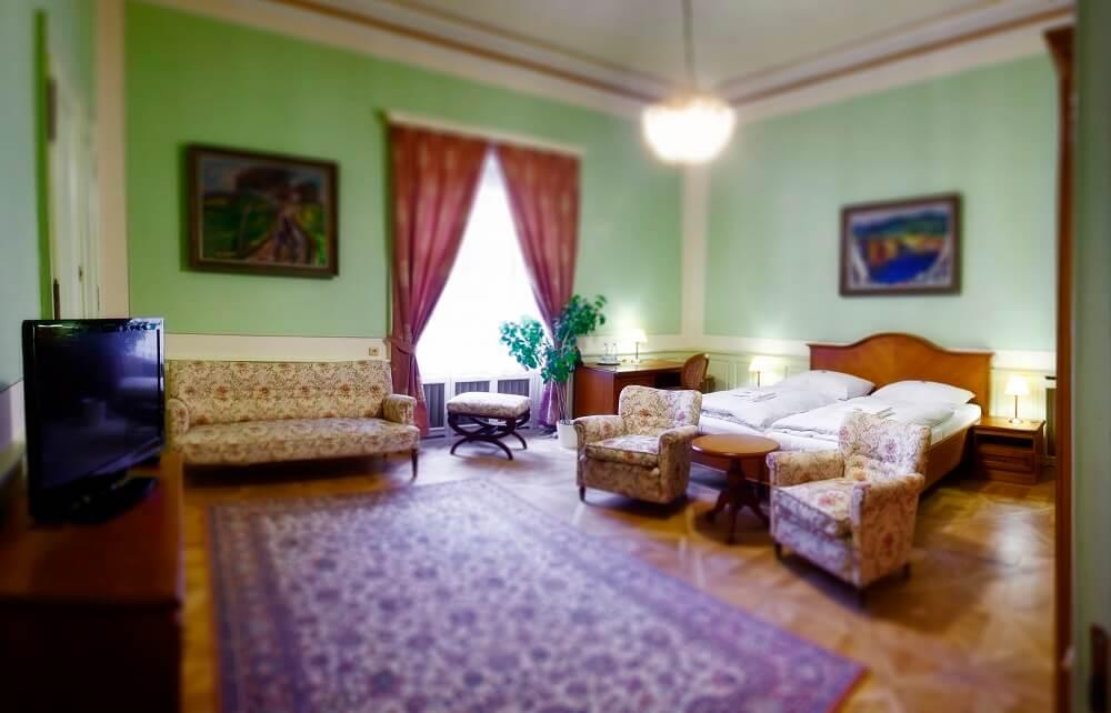 Villa Lanna - ubytování