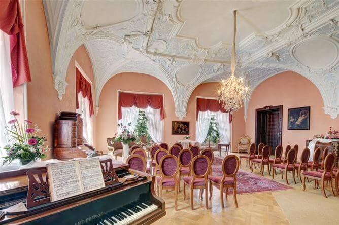 Zámek Chyše - klavír