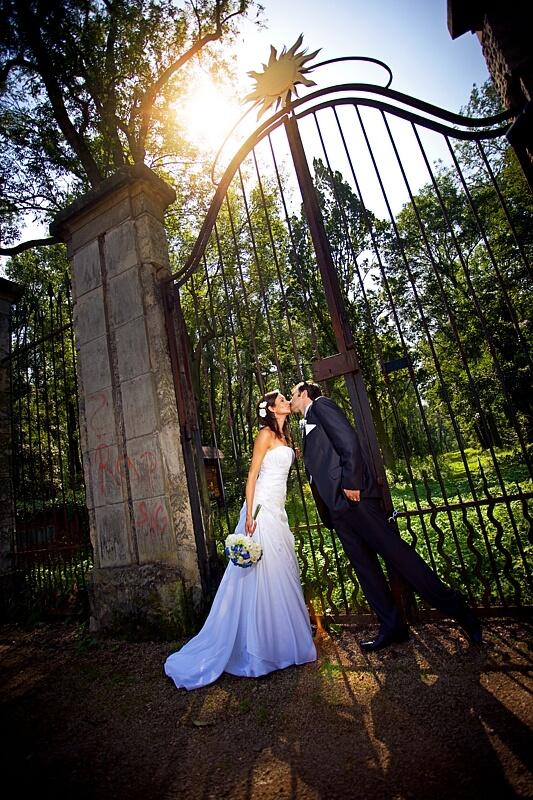 Zámek Liblice - brána