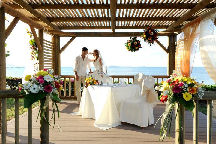 Modrý Mauricius svatební obřad