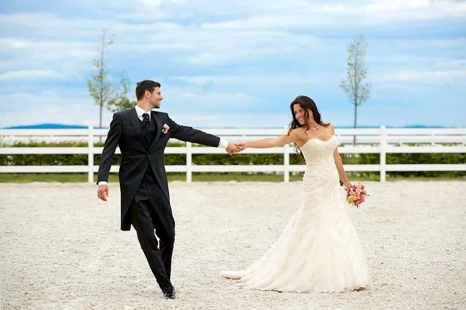 Horse park novomanželé