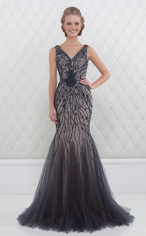 Černé společenské šaty Salon Adelle