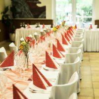 Hotel Hrubá voda svatební tabule