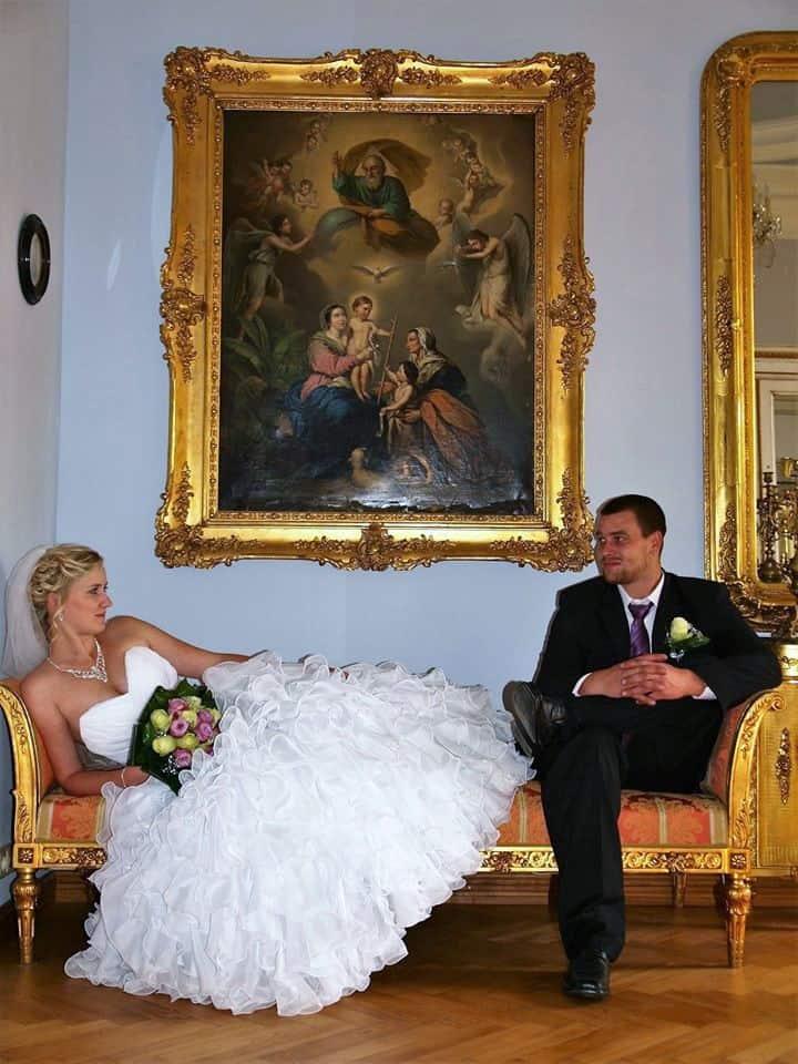 Svatba na Zámku Světlá nad Sázavou