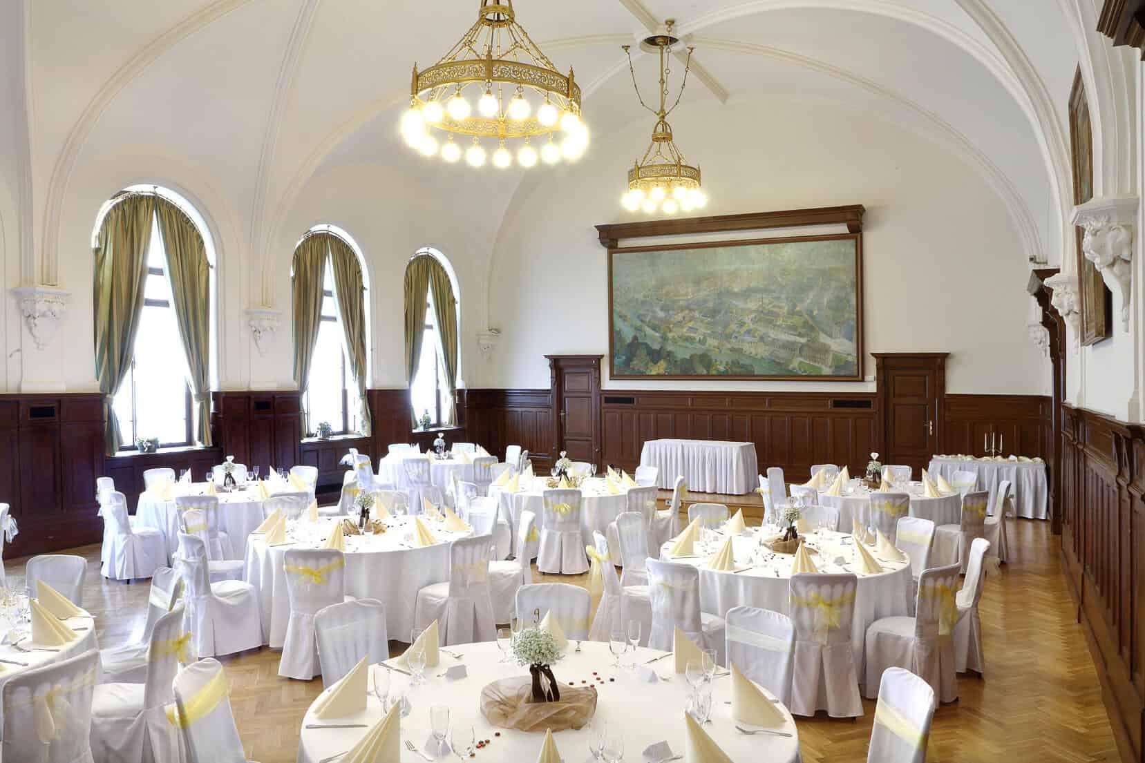 Svatební tabule - Sál Pilsner Urqulle