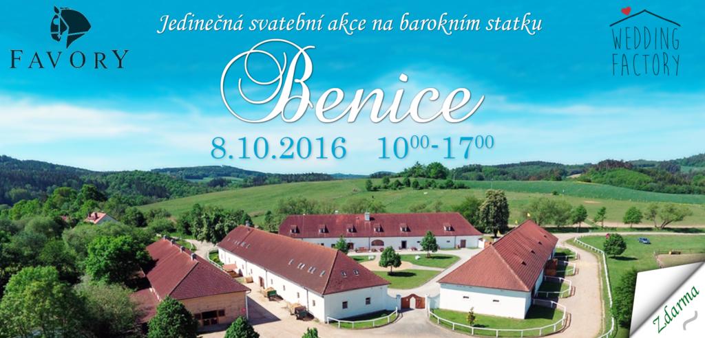 Svatební akce Benice