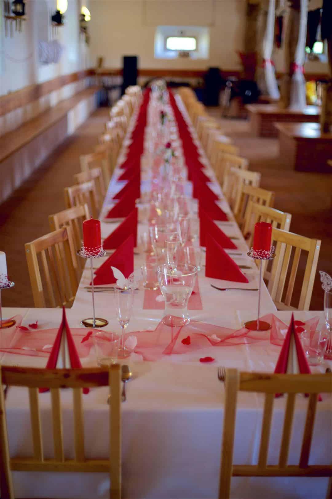 Svatební hostina Statek Benice