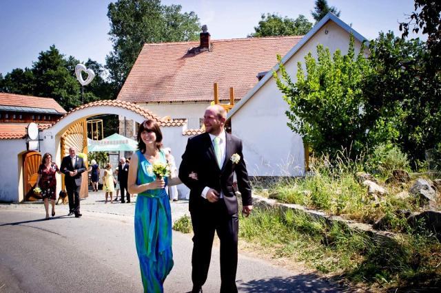 Strnadovský mlýn - svatba