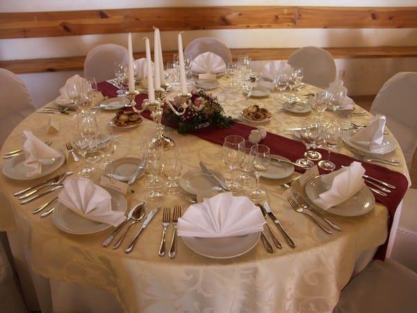 Svatební tabule Statek Benice