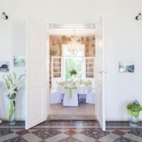 Zámek Dukovany interiér