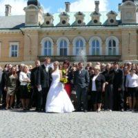 Zámek Světlá nad Sázavou svatební focení