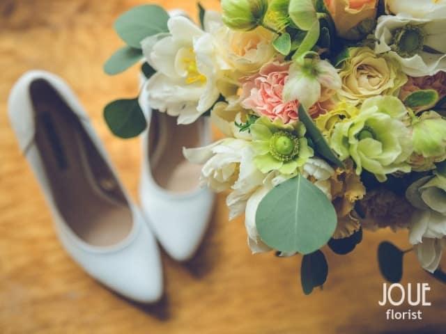 Svatební kytice od Joue