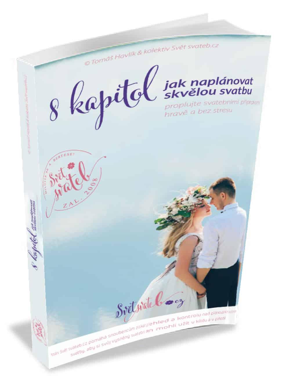 Svatební eBook 8 kapitol obálka 3D