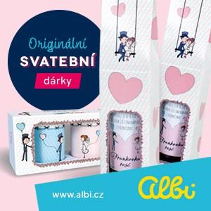 Originální svatební dárky Albi
