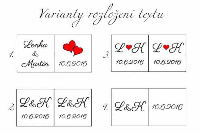 Varianty písma a rozložení textu