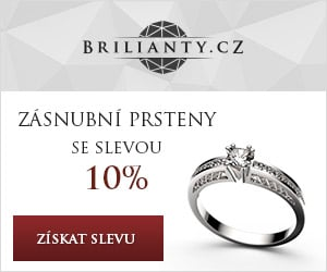 Zásnubní prsteny se slevou 10%