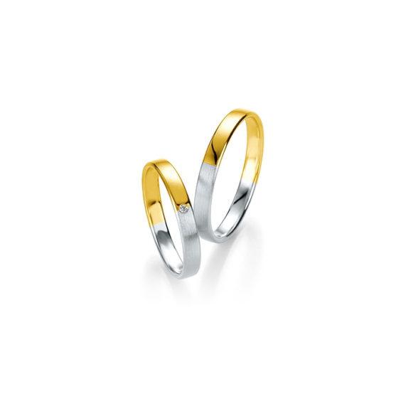 Snubní prsteny Bicolor