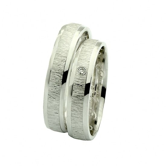 Matné snubní prsteny Farbilia