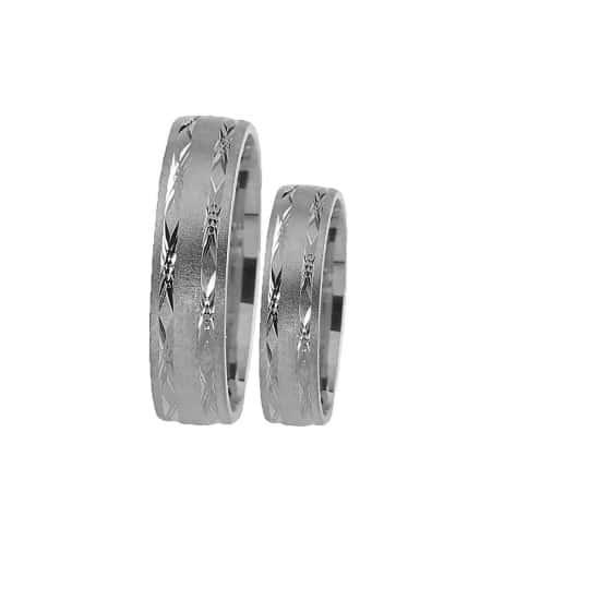 Snubní prsteny s rytím Farbilia