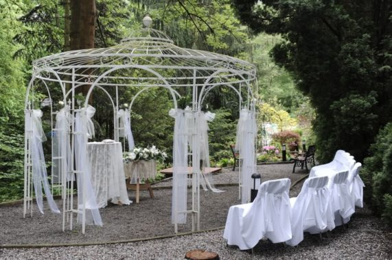 Svatební altán Spálený mlýn