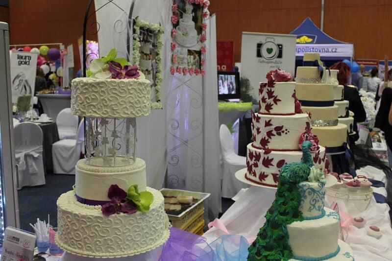 Svatební dny - svatební dorty