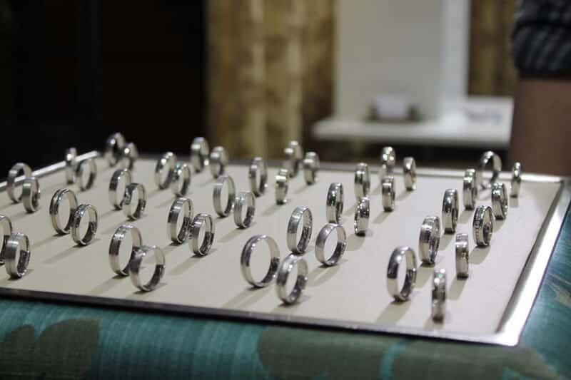 Svatební dny - snubní prsteny