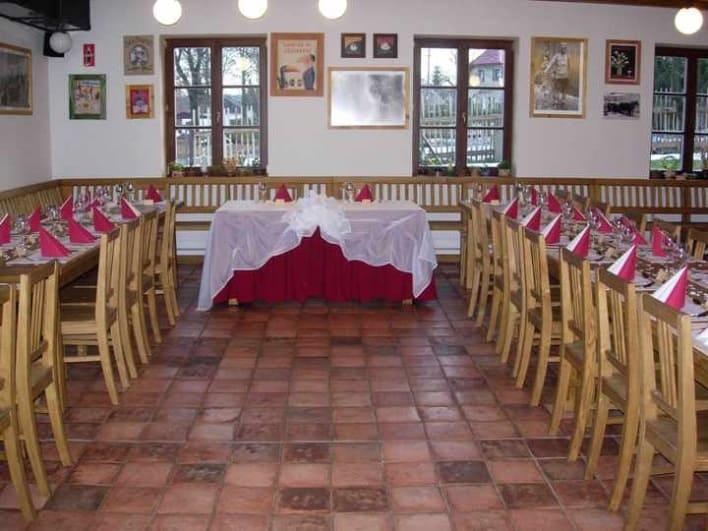 Svatební hostina Pension Klokočí