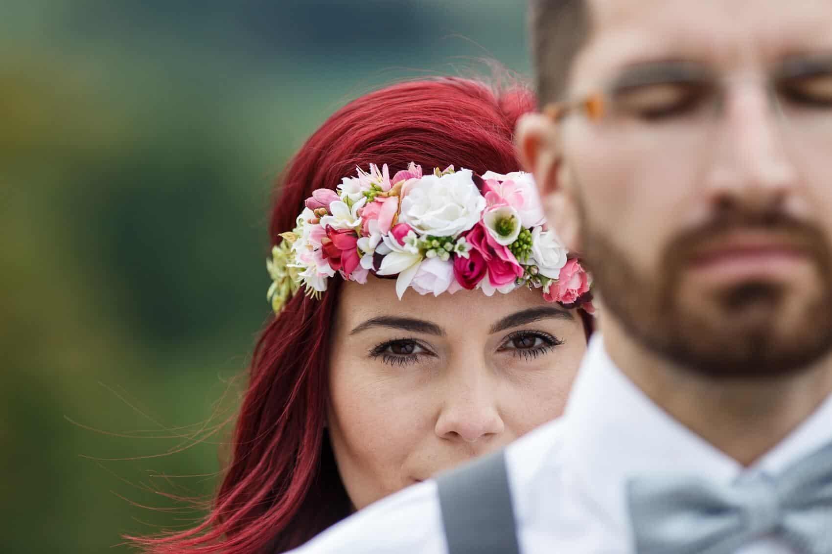 Fotograf Radek Vandra detail novomanželů