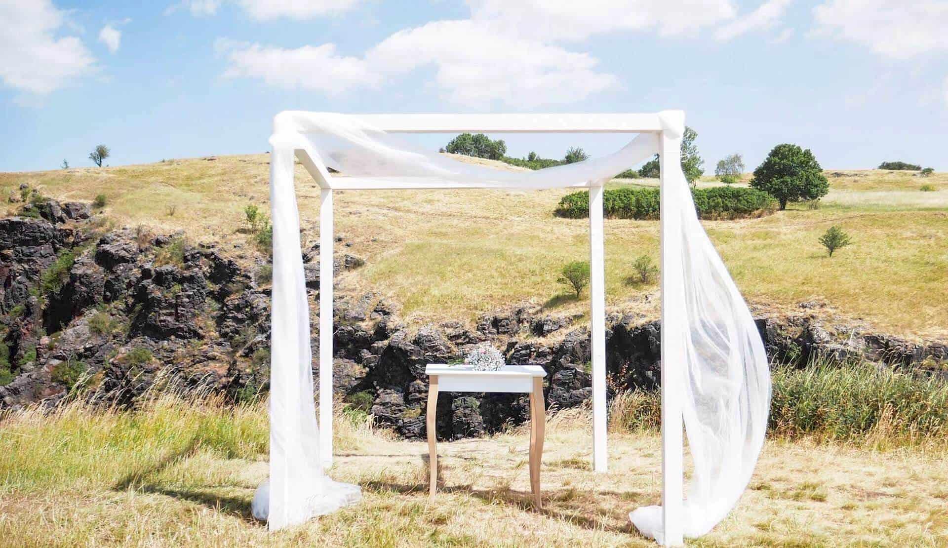 Svatba po širákem - slavobrána
