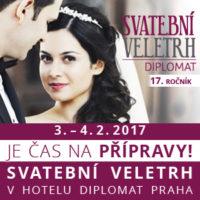 Svatební veletrh v hotelu Diplomat 2017