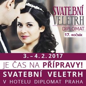 Svatební veletrh v hotelu Diplomat 3. – 4. února 2017