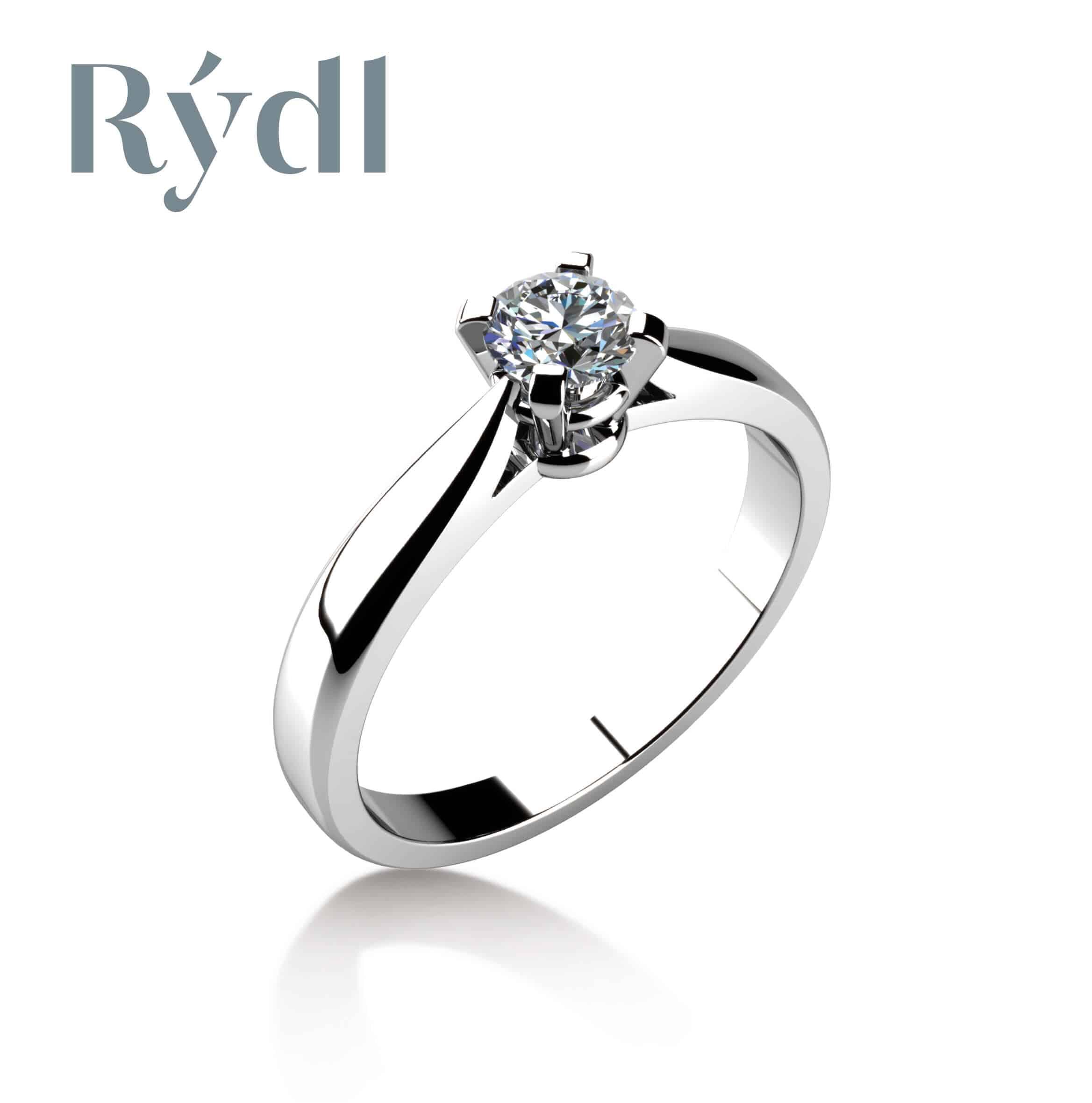 Zásnubní prsten Rýdl 013