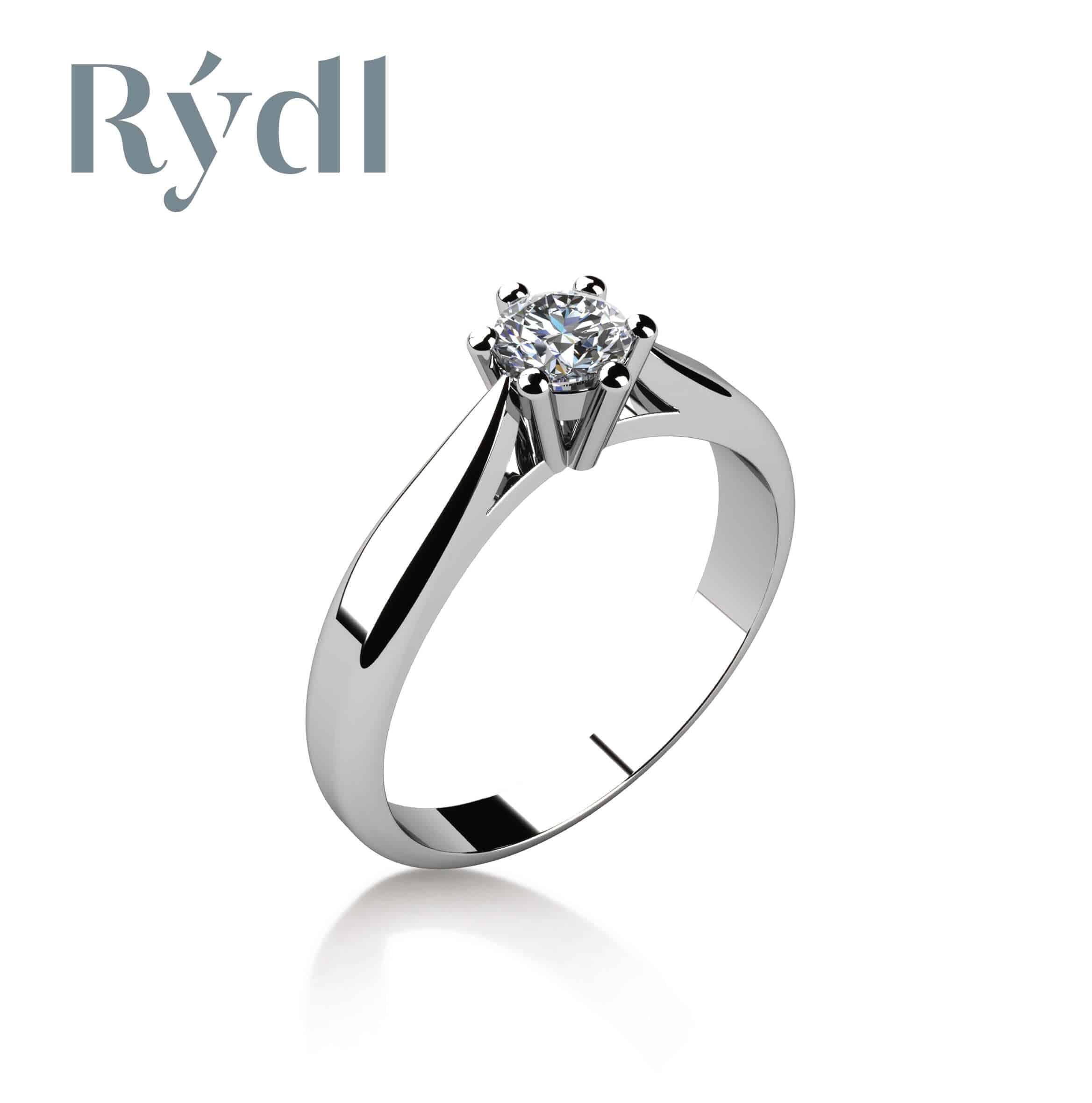 Zásnubní prsten Rýdl 017