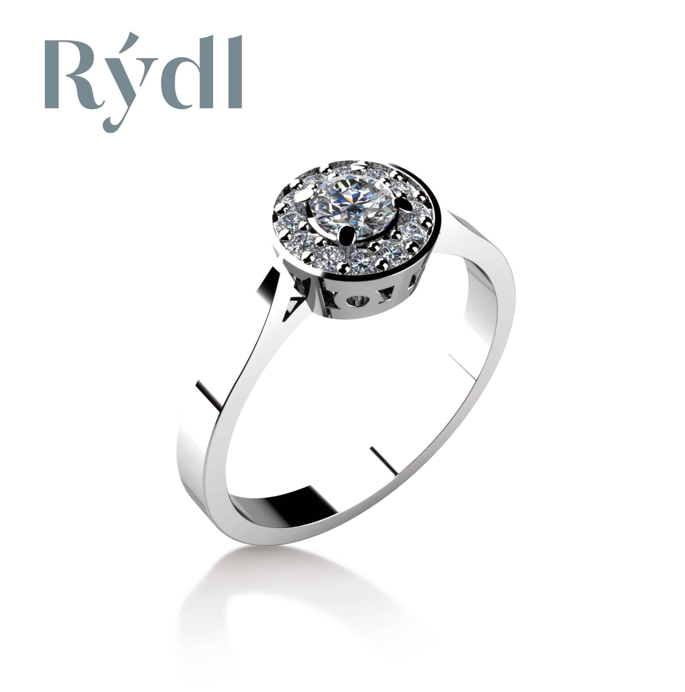 Zásnubní prsten Rýdl 025
