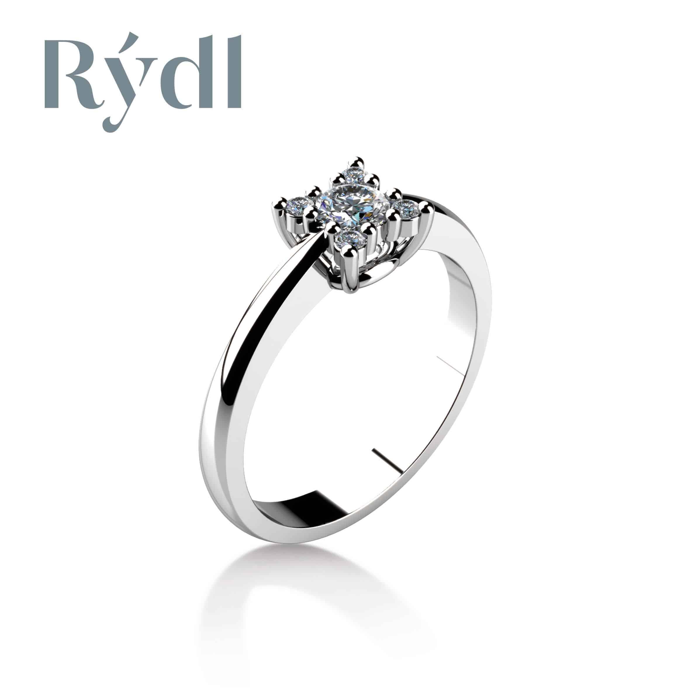 Zásnubní prsten Rýdl 031