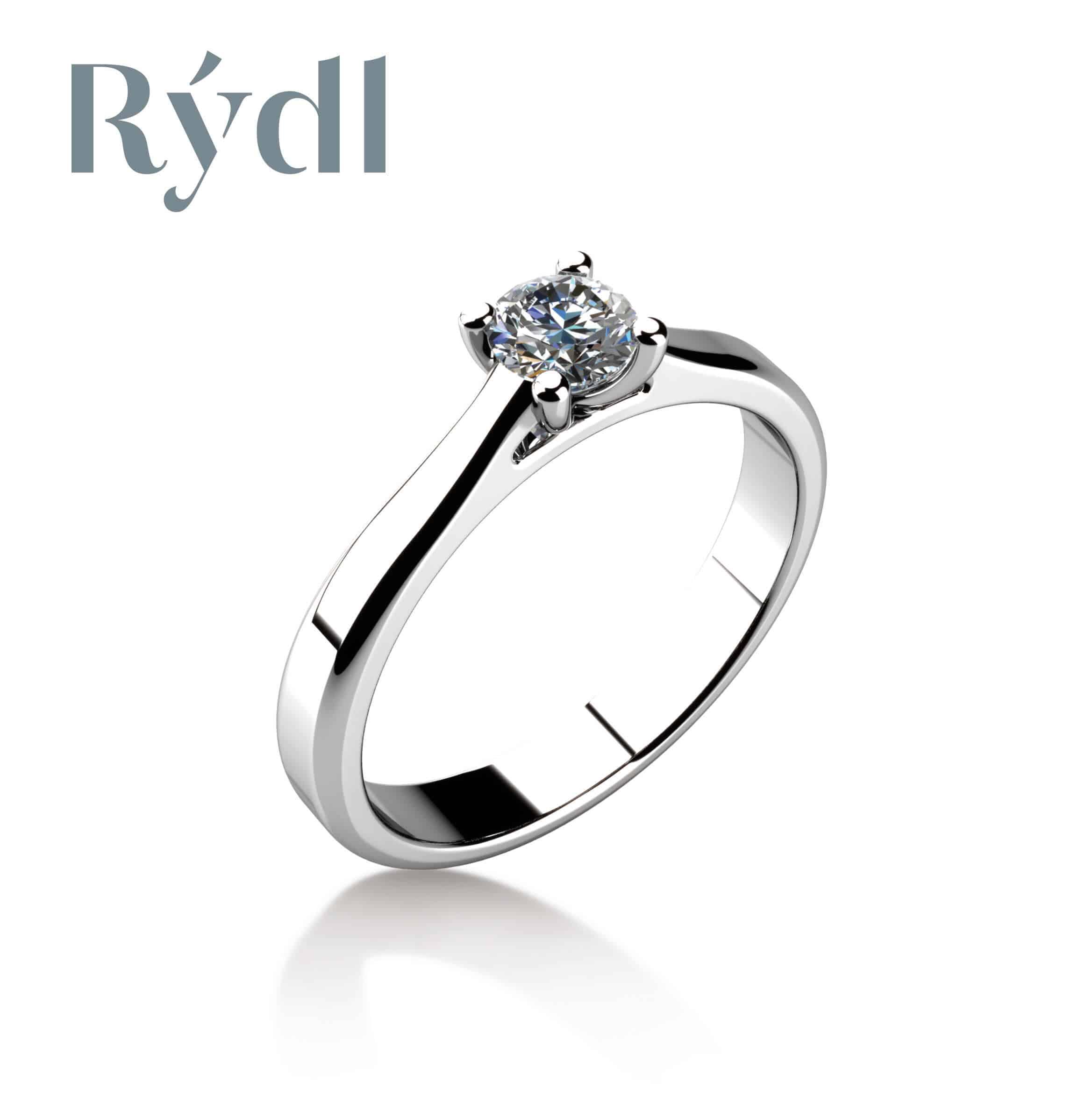 Zásnubní prsten Rýdl 045